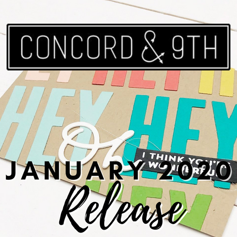 Concord & 9th January 2020 Release