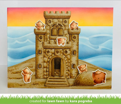 Lawn Fawn - Build-a-Castle Dies – Arts and Crafts Supplies Online ...