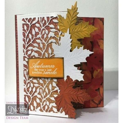 Crafters Companion Sara Signature Collection Autumn Morning Metal Die - Garden Vines