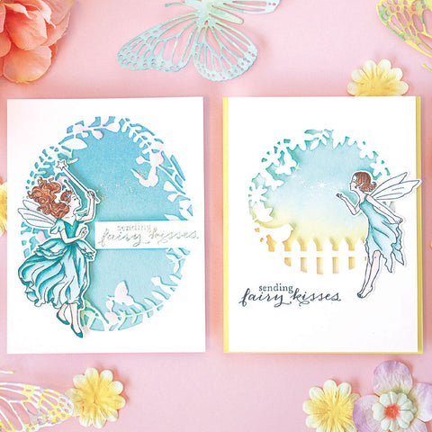 Hero Arts - Fairy Kisses Stamp and Die