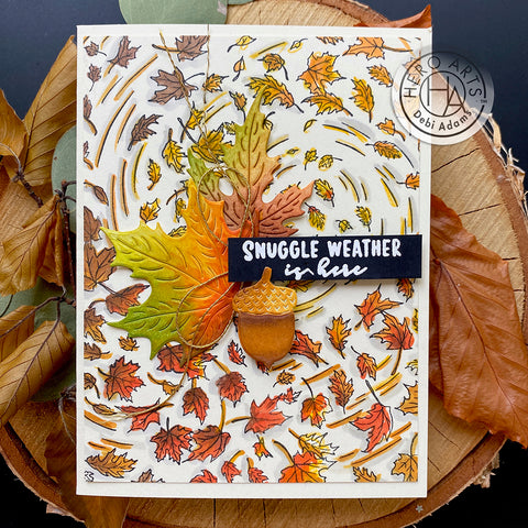 Hero Arts - Autumn Messages Stamps