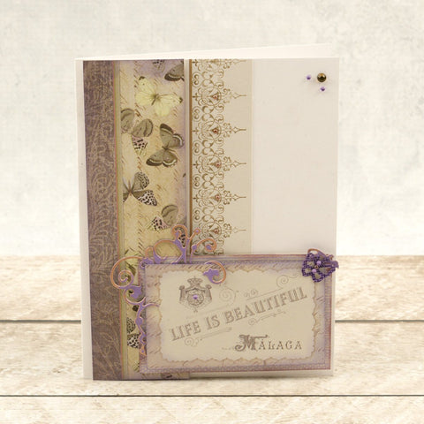 Couture Creations - Butterfly Garden - Mini Die - Butterfly Corner
