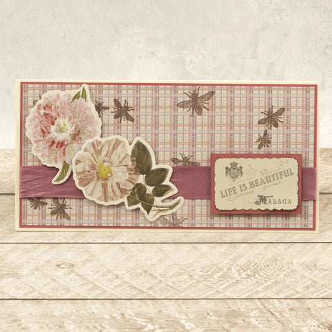 Couture Creations - Butterfly Garden - Mini Stamp - Buzzing Bees