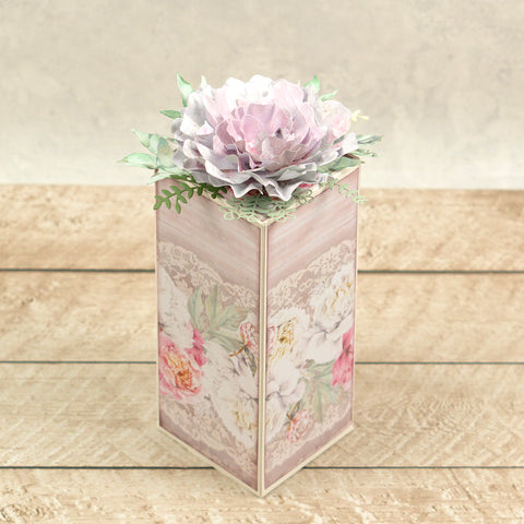 Couture Creations - Peaceful Peonies - Mini Die - Leafy Branch