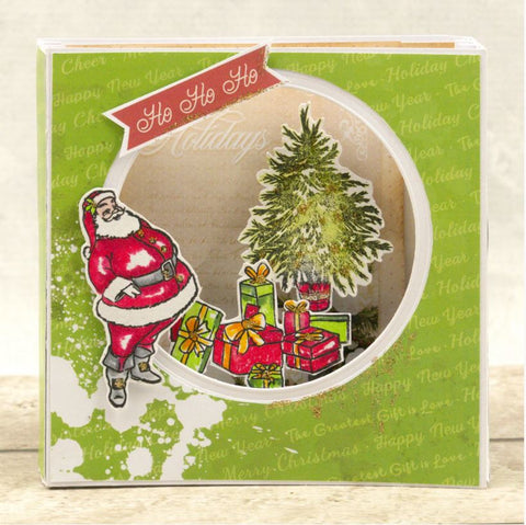 Couture Creations - The Gift of Giving Collection - Mini Stamp - Under the Tree