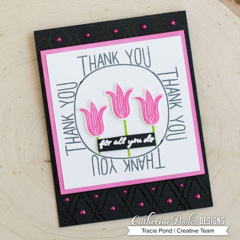 Catherine Pooler BFF Background Stamp