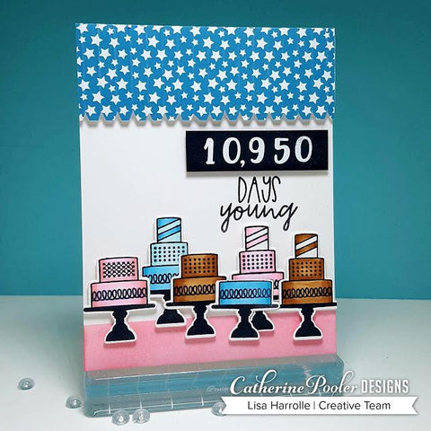 Catherine Pooler - Milestone Birthday Sentiment Mix Stamp Set