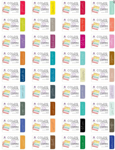 Prima Marketing - Color Philosophy - Stackable Magnetic Ink Pad