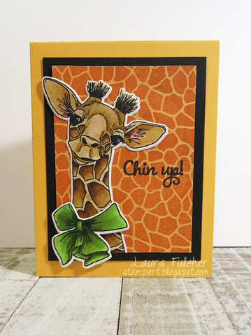 Impression Obsession - Baby Giraffe Cling Stamps