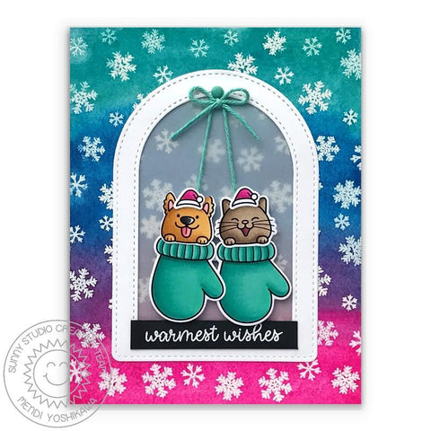Sunny Studio Stamps -  Christmas Critters Stamps and Dies