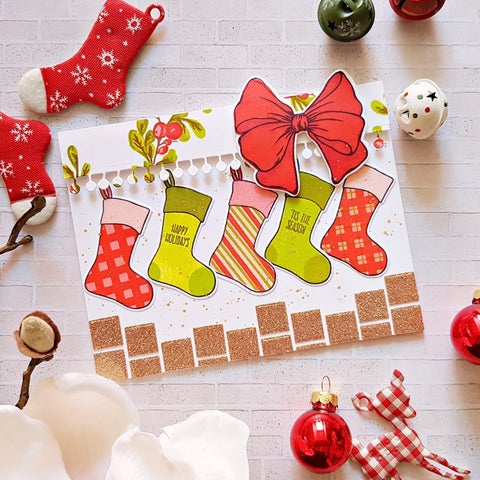 Altenew - Christmas Stockings Stamp and Die