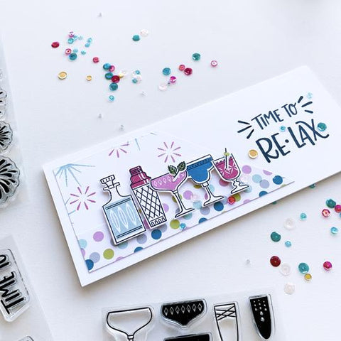 Catherine Pooler - Cocktail Party Stamp Set