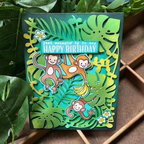 Hero Arts - June Release 2019 - It's a jungle out there!