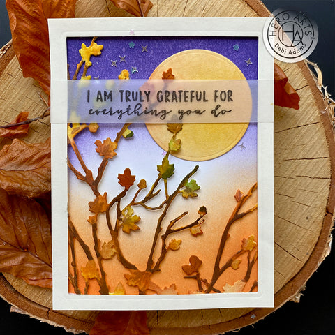 Hero Arts - Autumn Branches Cover Plate (F)