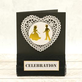 Couture Creations - Mini Hotfoil Stamp Set - Abracadabra - At the Ball  (2pc)