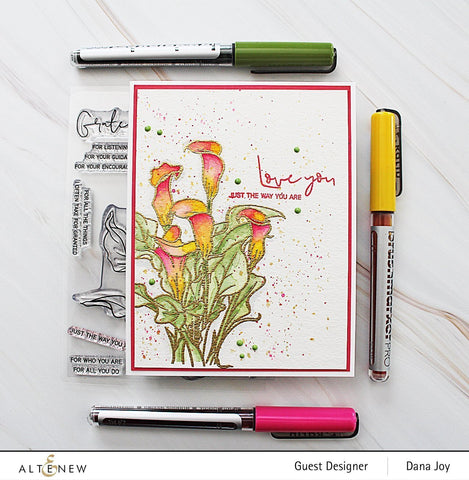 Altenew - Paint-A-Flower: Calla Lily Outline Stamp Set