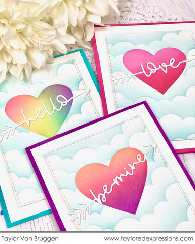 Taylored Expressions - Masking Stencil Hearts