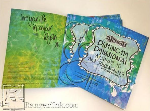 DISTINCTLY DYLUSIONAL: A GUIDE TO ART JOURNALING  - Dyan Reaveley