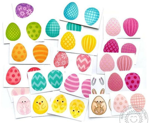Sunny Studio Stamps - Eggs to Dye For Stamps and Dies
