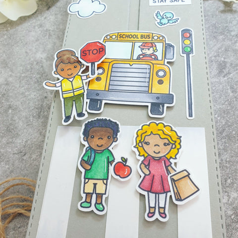 Trinity Stamps - 4x6 Classroom Cuties Stamp Set