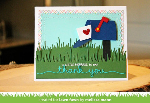 Lawn Fawn Happy Mail Die