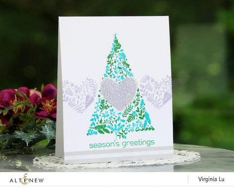 Altenew - Festive Foliage Stamp and Die
