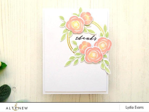 Altenew - Floral Elements Stamp and Die