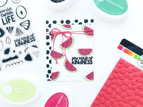 Catherine Pooler - Spotted Background Stamp