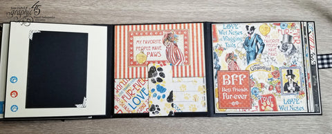 Graphic 45 - Well Groomed Journaling Cards