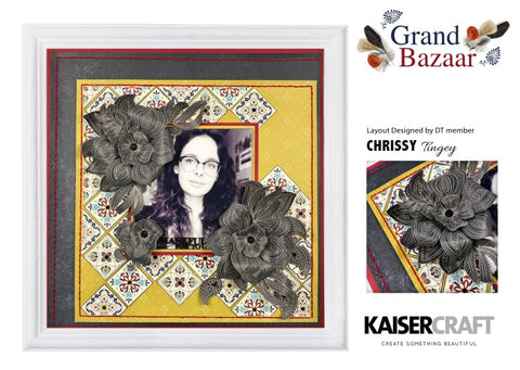 Kaisercraft - Grand Bazaar - Scrapbook Paper