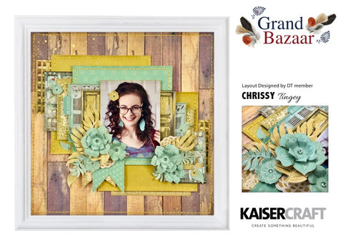 Kaisercraft - Grand Bazaar - 12x12 Scrapbook Paper