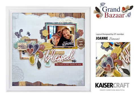Kaisercraft - Grand Bazaar - Clear Stamp