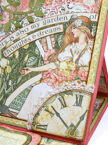 Grafic 45 - Garden Godess Collection - Cards by Annette Green