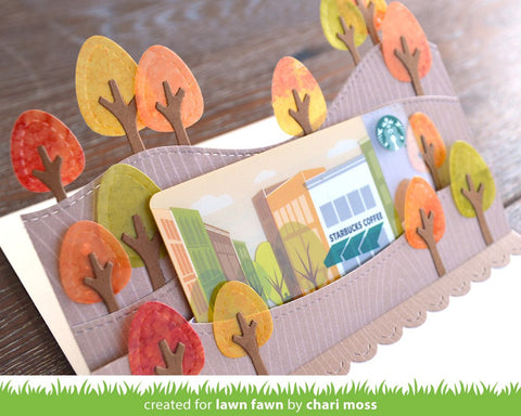 Lawn Fawn Knock On Wood Petite Paper Pack