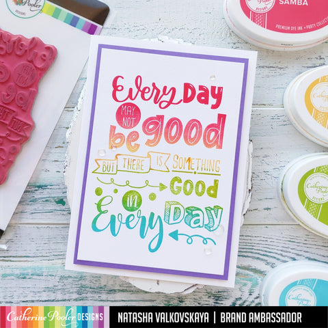 Catherine Pooler - Good Day Background Stamp