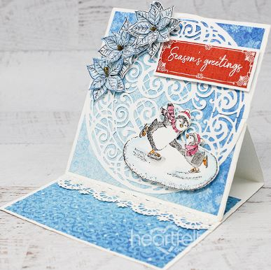 Heartfelt Creations - Candy Cane Cottage Collection - Heart of Joy Decorative Die