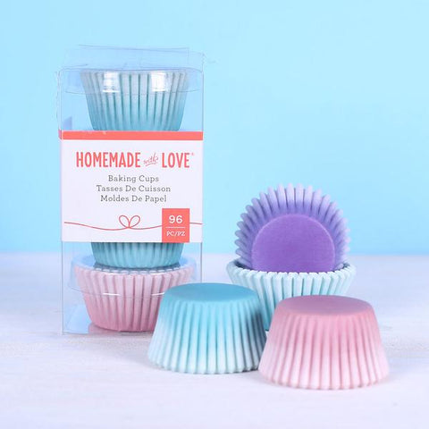 American Crafts - Homemade With Love - Mini Baking Cups Watercolour