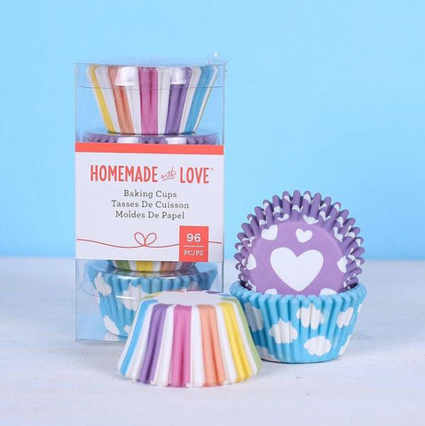 American Crafts - Homemade With Love - Mini Baking Cups Daydream