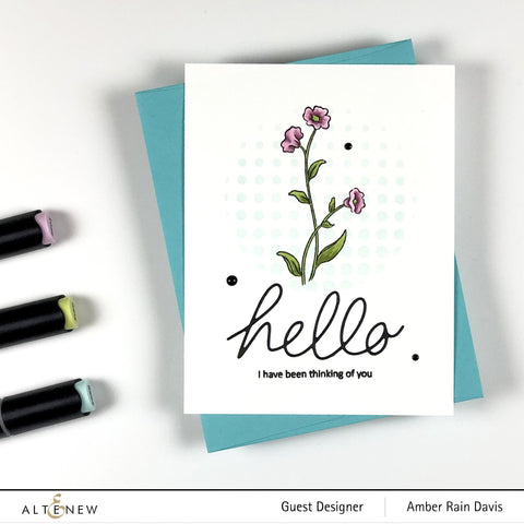 Altenew - Handwritten Hello Die Set