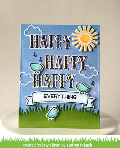 Lawn Fawn Bannertastic Stamp and Die