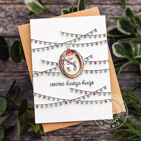 Sunny Studio Stamps - Hedgey Holidays Stamps
