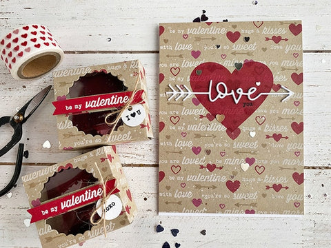 Taylored Expressions - All Tucked In - Valentine - Stamps