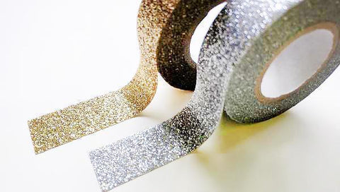 Altenew Gold & Silver Glitter Tape