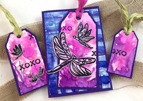 Couture Creations - Steampunk Dreams Collection - Die - Distressed Tags Cutting Die Set