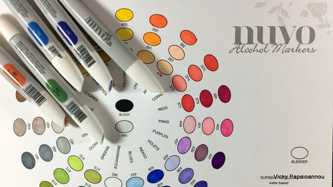 Tonic Studios - Nuvo - Alcohol Markers - Sunshine Yellows