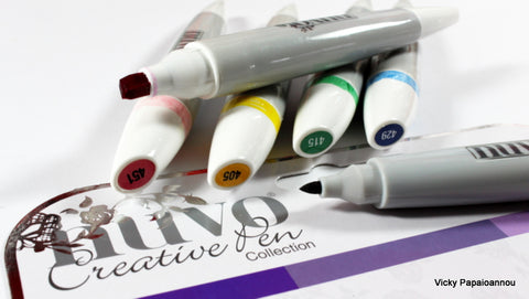 Tonic Studios - Nuvo - Alcohol Markers - Royal Purples