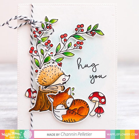 Waffle Flower - Autumn Time Combo Stamp and Dies