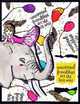 Jane Davenport - Whimsical and Wild - Elephant Dream Clear Stamp Set
