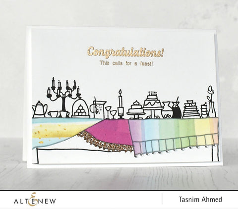 Altenew - It's a Feast Stamp Set