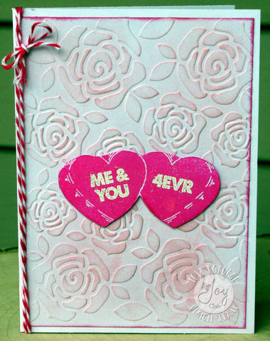Joy Clair - Candy Hearts Clear Stamps